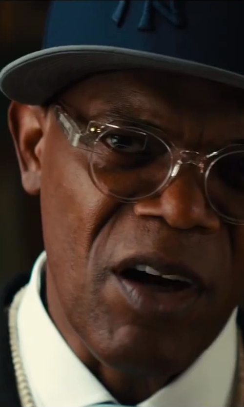Samuel L. Jackson with '47 Brand New York Yankees Five Panel Wool Ferro Adjustable Cap by '47 Brand in Kingsman: The Secret Service