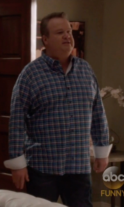 Eric Stonestreet with True Religion Ricky Super T Straight-Leg Jeans in Modern Family