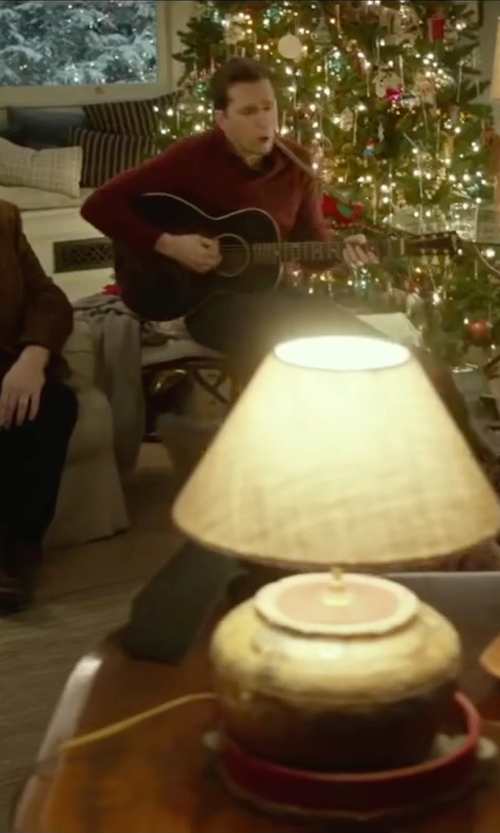 Ed Helms with Yamaha Acoustic Guitar in Love the Coopers