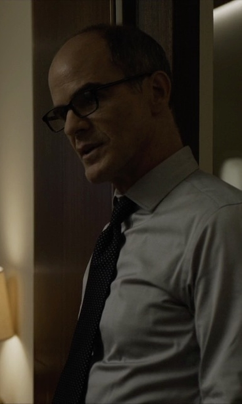 Michael Kelly with See Concept, Paris Shape B Reading Eyeglasses in House of Cards