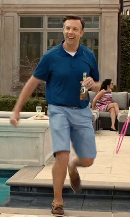 Jason Sudeikis with Tommy Bahama Ashore Thing Boat Shoes in Downsizing