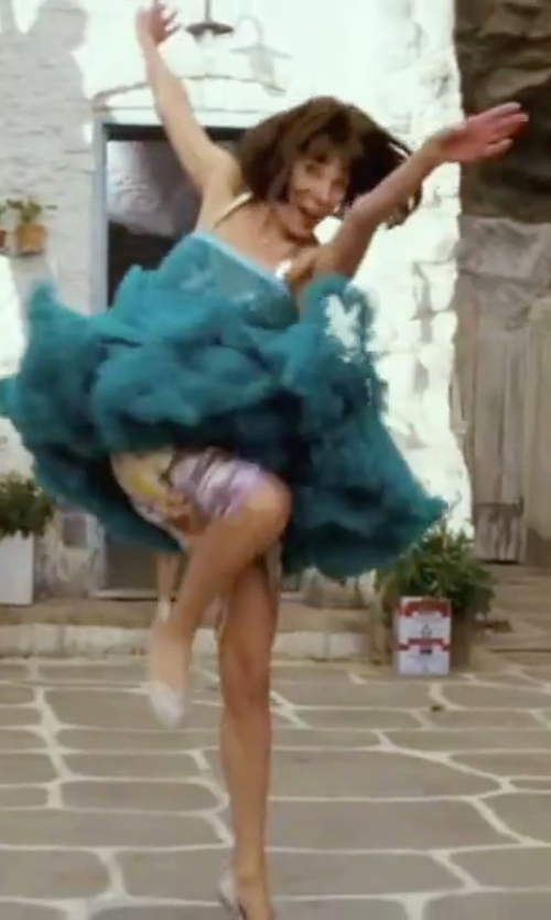 Christine Baranski with Wedtrend  Vintage Rockabilly Petticoat in Mamma Mia!