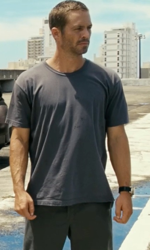 Paul Walker with Jaeger-LeCoultre Master Compressor Diving Automatic Navy SEALs Watch in Fast Five