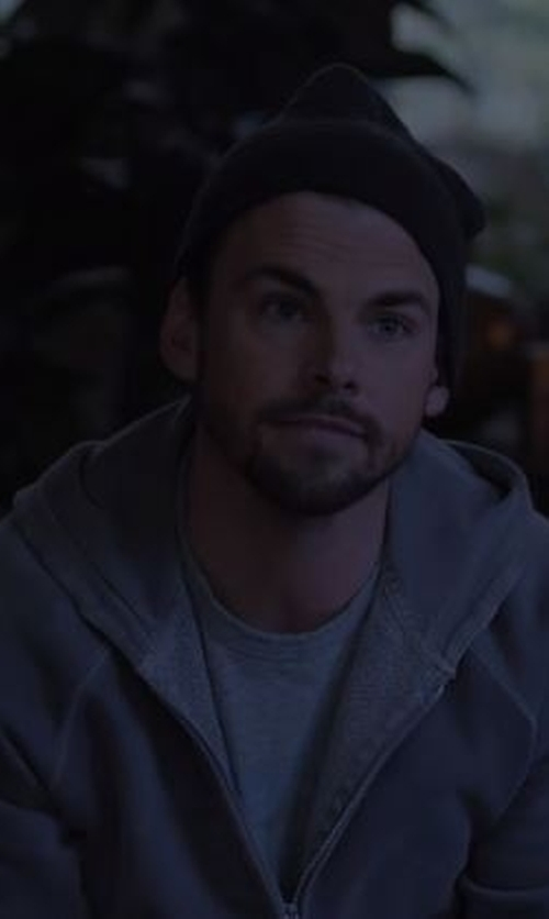 Tommy Dewey with Nike Dri-Fit Touch Fleece Full Zip Hoodie in Casual