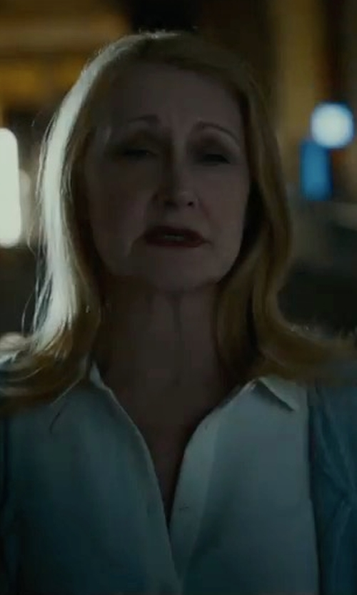 Patricia Clarkson with Byoauo Casual Knit Cardigan in Maze Runner: The Death Cure