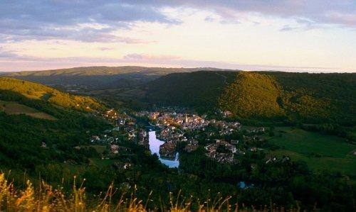Saint-Antonin-Noble-Val France in The Hundred-Foot Journey