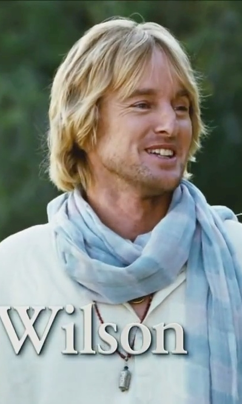 Owen Wilson with Isabel Benenato Light Linen Canvas Shirt in Little Fockers