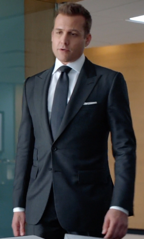 Gabriel Macht with Neil Barrett Classic Formal Suit in Suits