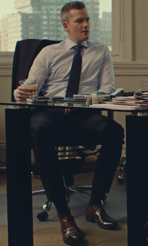 Unknown Actor with To Boot New York 'Brandon' Cap Toe Oxford Shoes in While We're Young