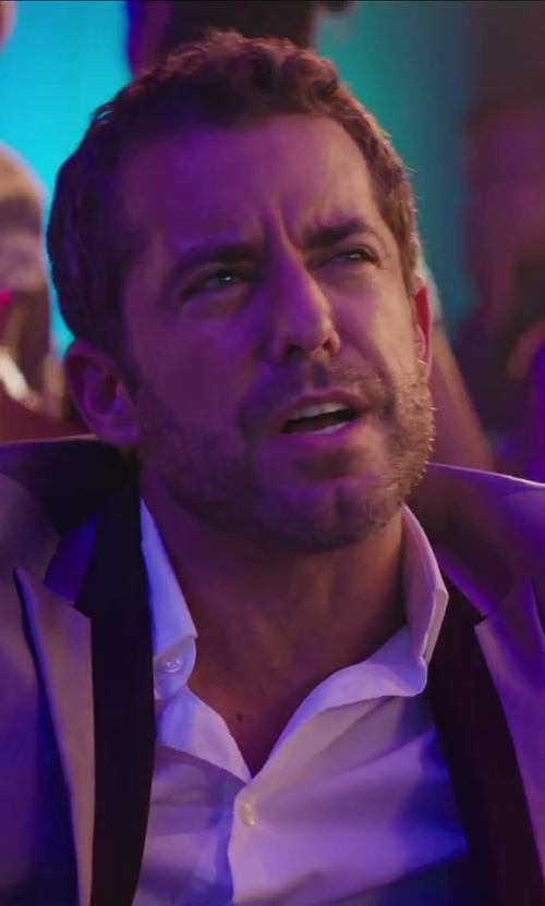 Jason Jones with Dsquared2 Stretch Dress Shirt in Hot Tub Time Machine 2