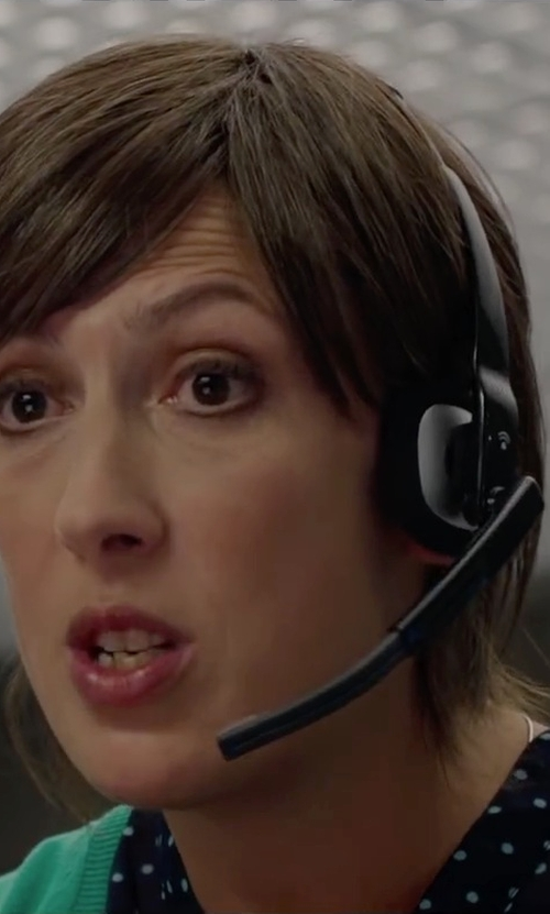 Miranda Hart with Plantronics Multimedia Headset in Spy