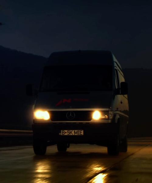 Ronda Rousey with Mercedes-Benz Sprinter in The Expendables 3
