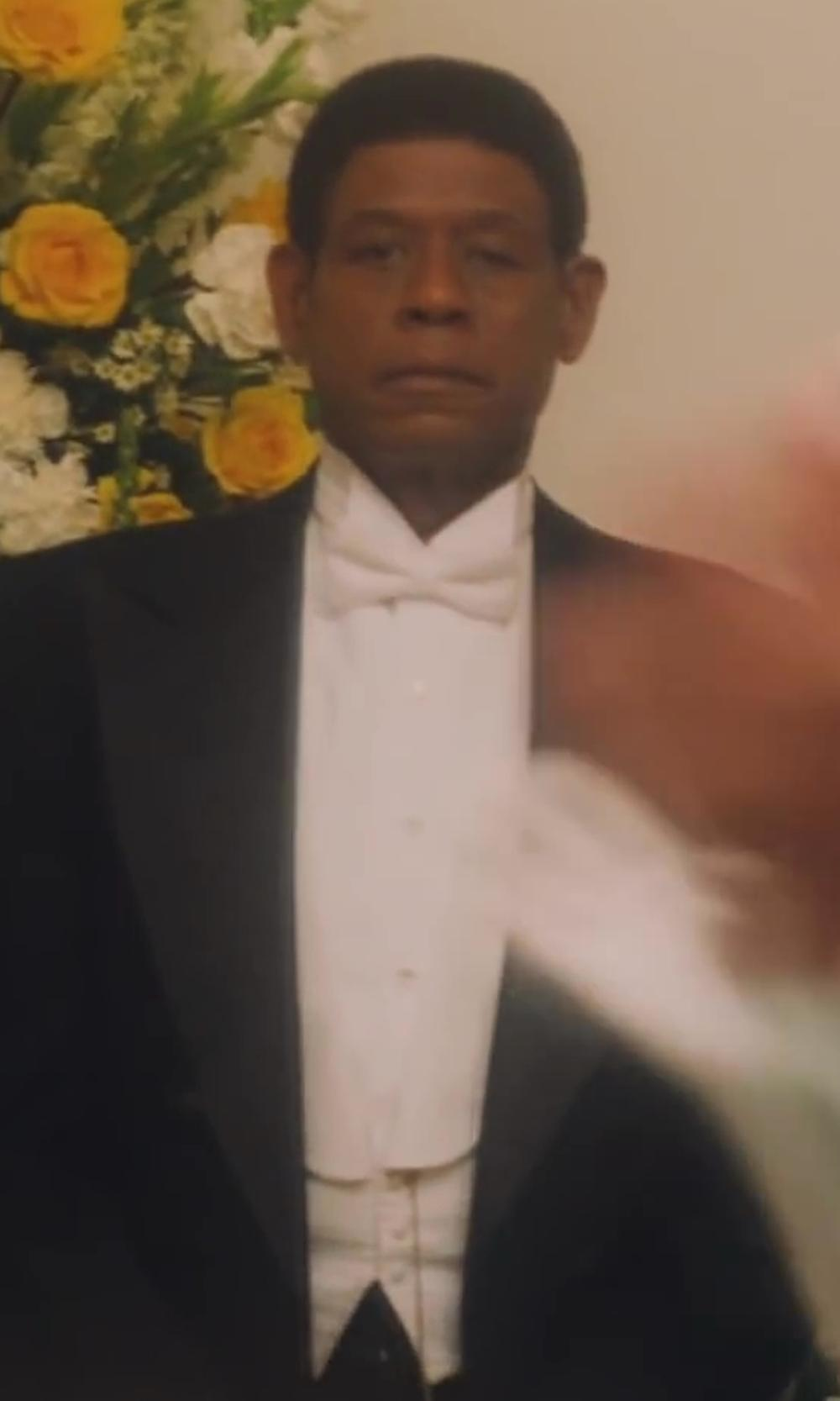Forest Whitaker with Theory Slyvain Solid Dress Shirt in Lee Daniels' The Butler