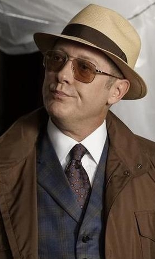 James Spader with U.S. Polo Assn. Men's Corduroy Vest in The Blacklist