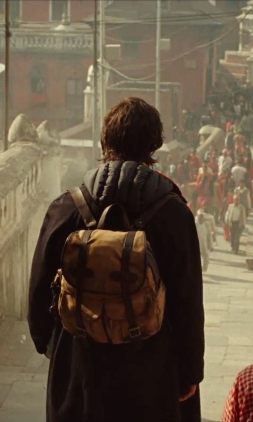 Benedict Cumberbatch with Filson Canvas Rucksack in Doctor Strange