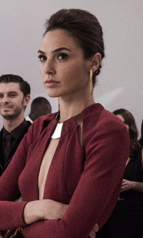 Gal Gadot with Gurhan Wheat Drop Earrings in Batman v Superman: Dawn of Justice