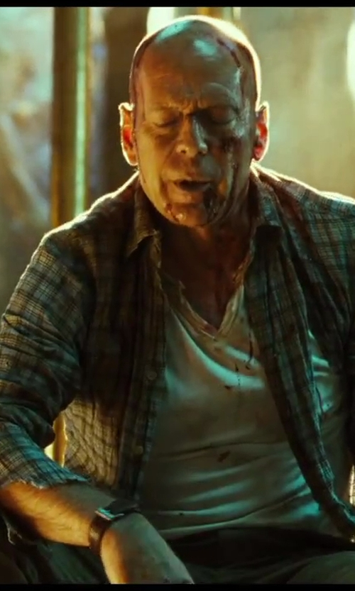 No Actor with Dsquared2 Corduroy Trousers in A Good Day to Die Hard