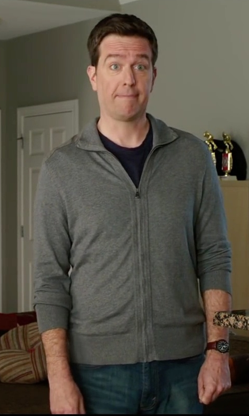 Ed Helms with Citizens of Humanity Core Slim Straight Argo Jeans in Vacation