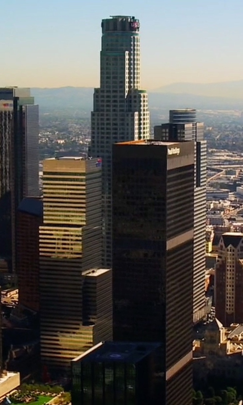 Unknown Actor with U.S. Bank Tower Los Angeles, California in Mistresses
