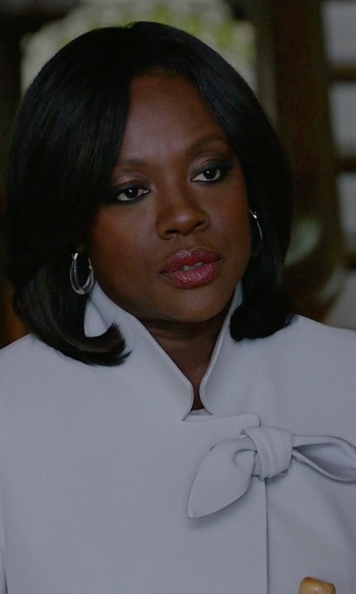 Viola Davis with Alpha Studio Single Breasted Blazer in How To Get Away With Murder