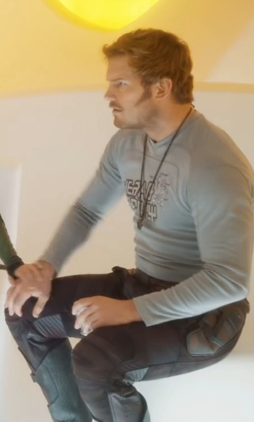 Chris Pratt with Polo Ralph Lauren Courier Cargo Pants in Guardians of the Galaxy Vol. 2