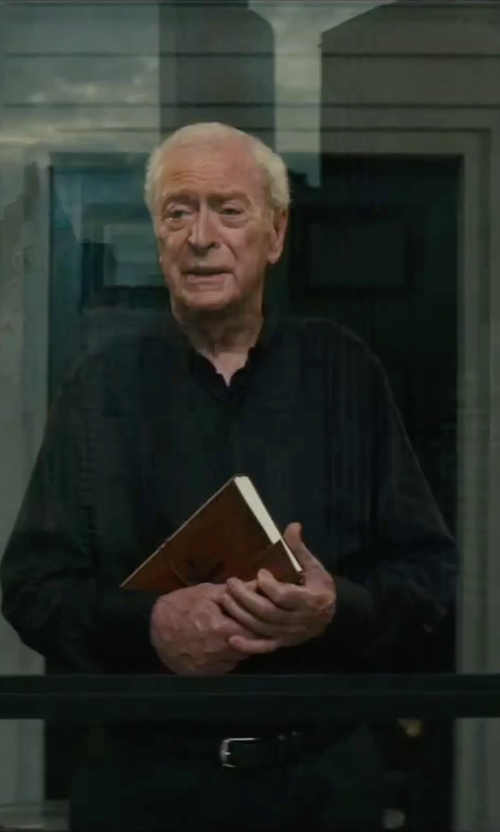 Michael Caine with Croft & Barrow Classic-Fit Wool-Blend Dress Pants in The Last Witch Hunter