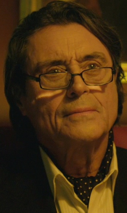 Ian McShane with Tom Ford Reading Glasses in John Wick