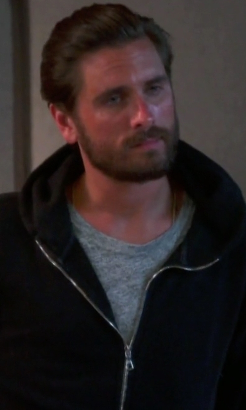 Scott Disick with John Elliott Flash Dual Full Zip Jacket in Keeping Up With The Kardashians