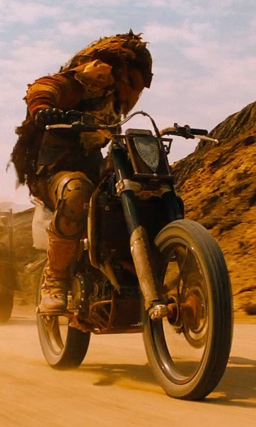 Unknown Actor with Yamaha 1975 Enduro Bike in Mad Max: Fury Road