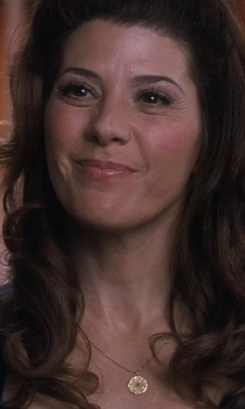 Marisa Tomei with Roberto Coin Stingray Large Pendant Necklace in Crazy, Stupid, Love.