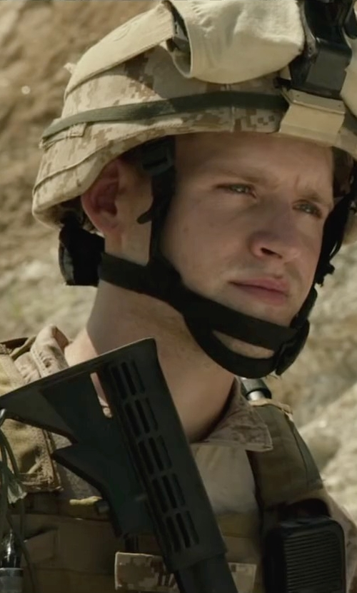 Luke Kleintank with Rothco Army Combat Uniform Set in Max
