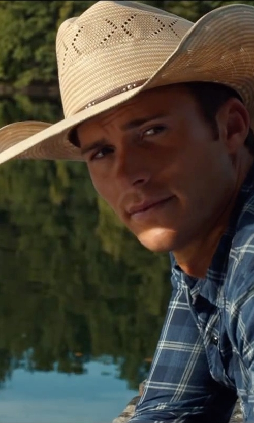 Scott Eastwood with Justin Butte Hat in The Longest Ride