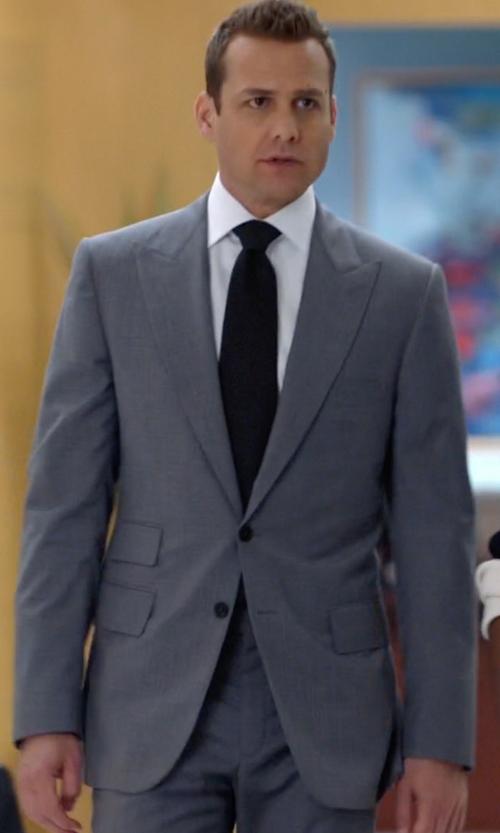 Gabriel Macht with Boss Hugo Boss Italian Virgin Wool & Silk Suit in Suits
