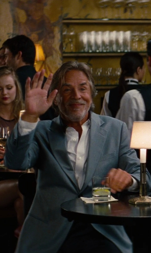 Don Johnson with Maison Martin Margiela Virgin Wool Blazer in The Other Woman