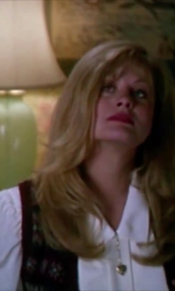 Beverly D'Angelo with Equipment Margaux Blouse in Christmas Vacation