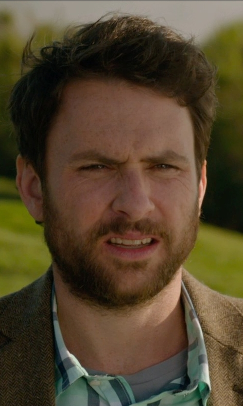 Charlie Day with Ralph Lauren Morgan Corduroy Sport Coat in Horrible Bosses 2