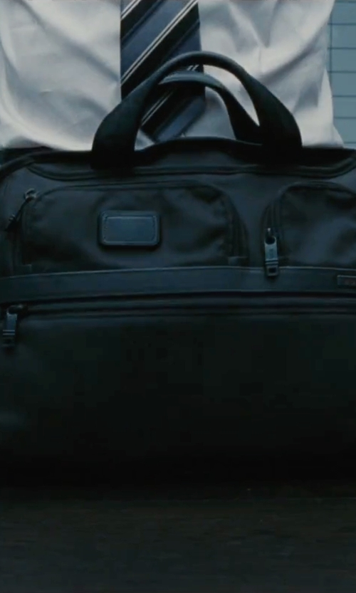 Ben Affleck with Tumi 'Alpha 2' Expandable Laptop Briefcase in The Accountant