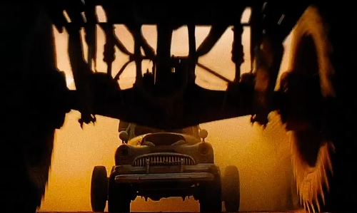 Unknown Actor with Buick Modified 1947 Sedan in Mad Max: Fury Road