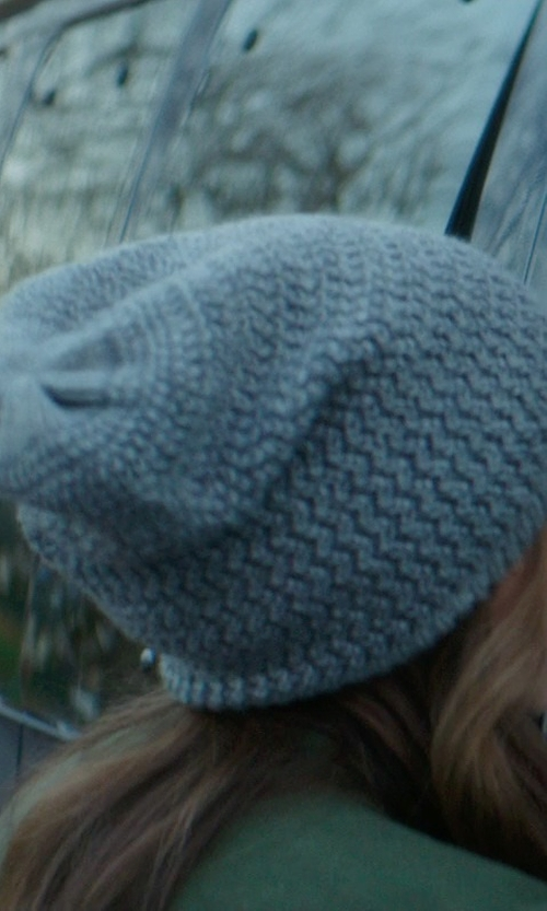 Chloë Grace Moretz with ASOS Wool Mohair Roll Beanie in If I Stay
