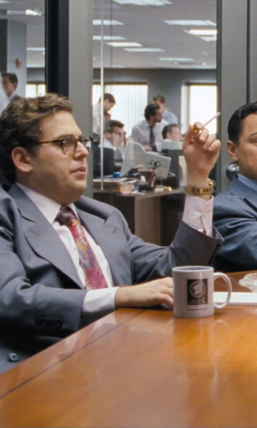 Jonah Hill with Nixon 'The 51-30 Chrono' Watch in The Wolf of Wall Street