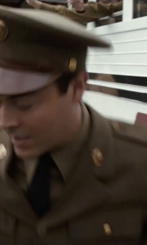 Jack Huston with Uncle Sam World War II Style Army Dress Uniform in The Longest Ride