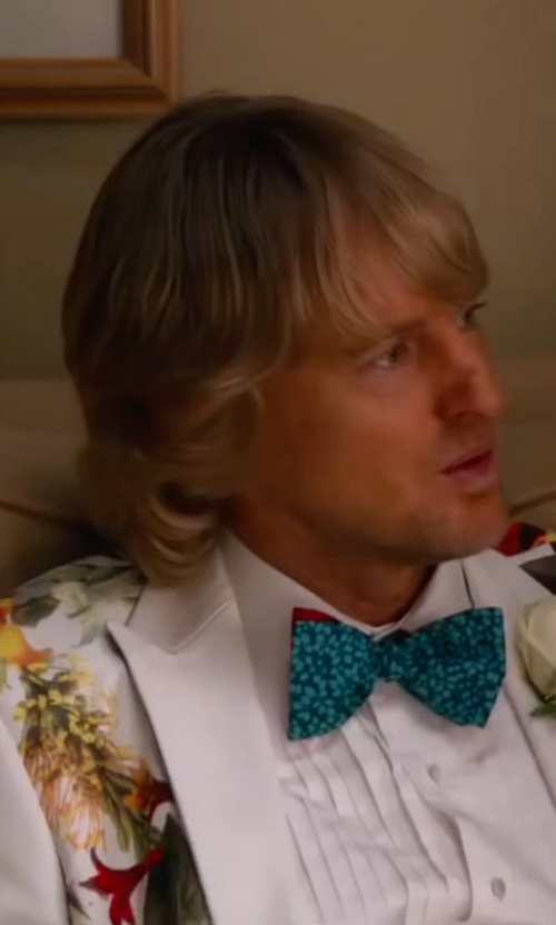 Owen Wilson with Fradi Printed Blazer in Bastards
