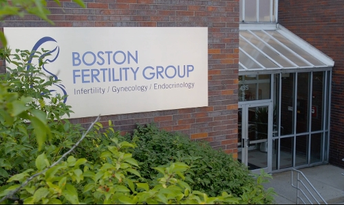 Unknown Actor with Whittier Street Health Center (Depicted As Boston Fertility Center Group) Boston, Massachusetts in Ted 2