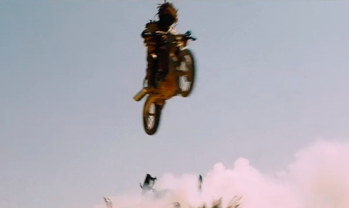 Unknown Actor with Honda 1975 CR125 Dirt Bike in Mad Max: Fury Road