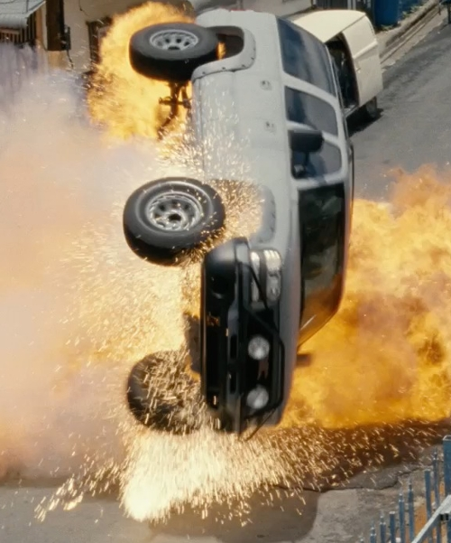 Unknown Actor with Chevrolet Suburban  SUV in Fast Five