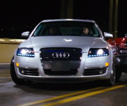 Jai Courtney with Audi A6 Sedan in Jack Reacher