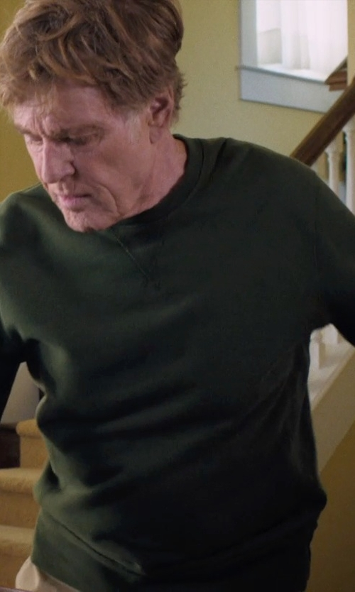 Robert Redford with Marc By Marc Jacobs Crew Neck Sweater in A Walk in the Woods
