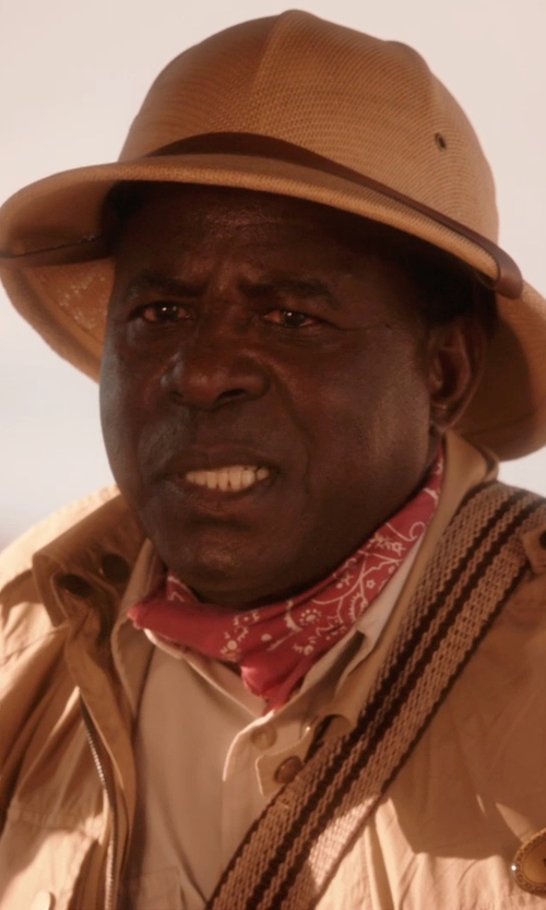 Abdoulaye NGom with Florida Hat Company Safari Pith Helmet in Blended