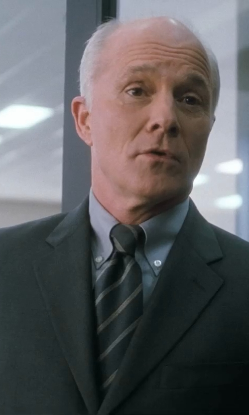 Dan Butler with Saks Fifth Avenue Slim-Fit Wool & Silk Two-Button Suit in Crazy, Stupid, Love.