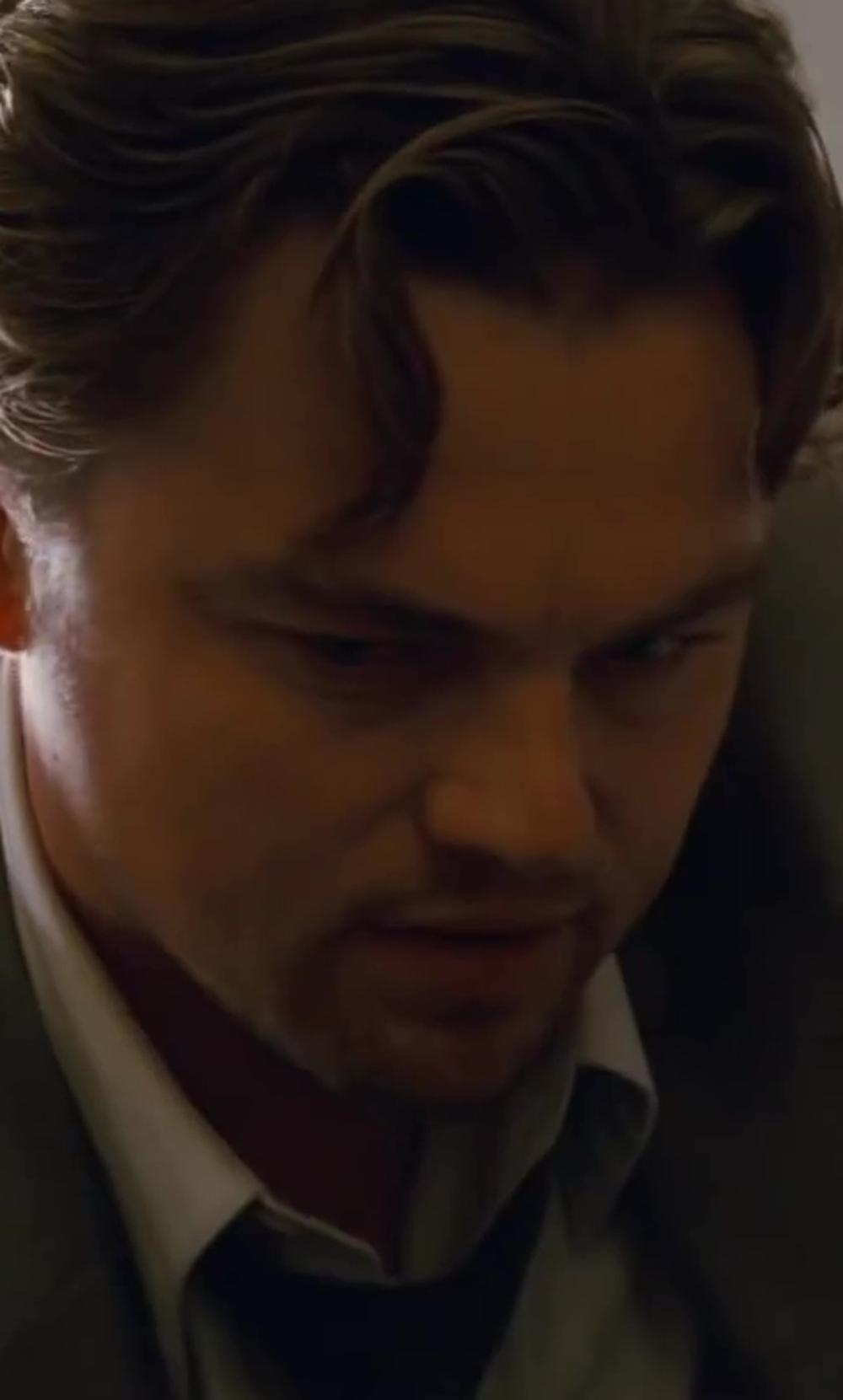 Leonardo DiCaprio with Jeffrey Kurland (Costume Designer) Custom Made Gray Textured Tie in Inception